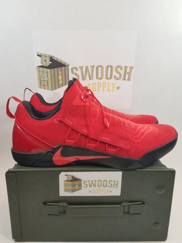 newest 85b47 4a7a8 ... cheap nike kobe a.d. nxt sz 13 univ red black bred bryant basketball  shoes 882049 600