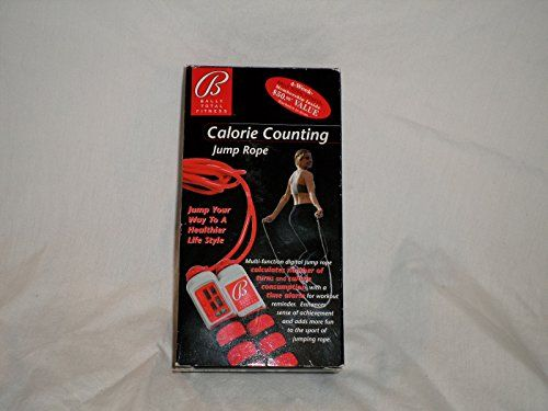 Calorie Counting Jump Rope by Bally Total Fitness *** Learn more by