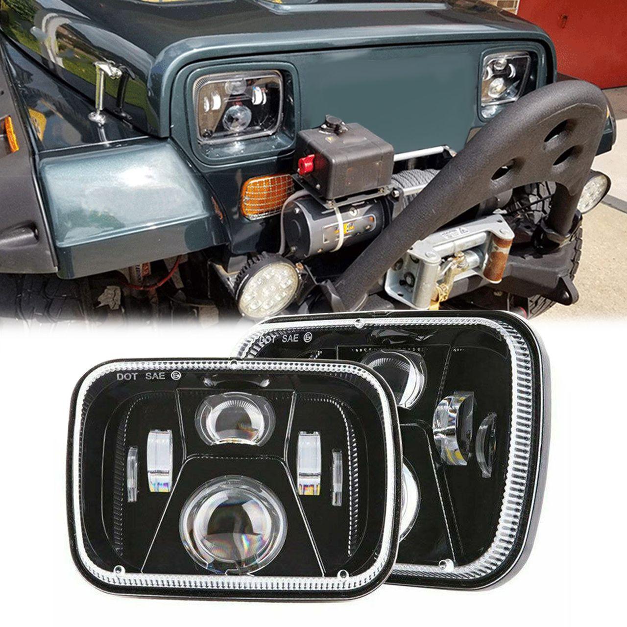 Carbon Fiber Inner Seat Back Net Pocket Frame For Jeep Grand Cherokee 2011-2018