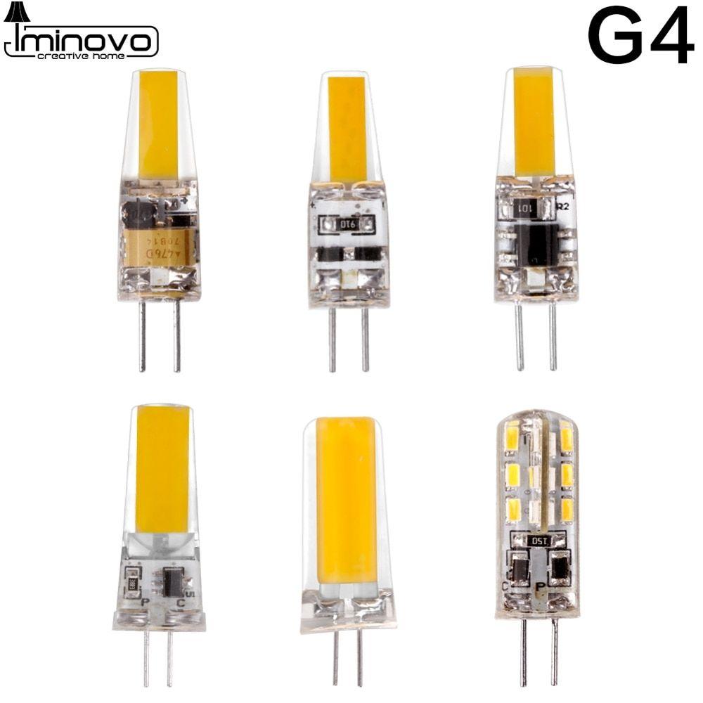 Led G4 G9 E14 Lamp Bulb Dimming Ac Dc 12v 220v 3w 6w 9w Cob Smd Replace Halogen Lighting Lights Spotlight Chandelier Bombillas Lamp Bulb Halogen Lighting Bulb