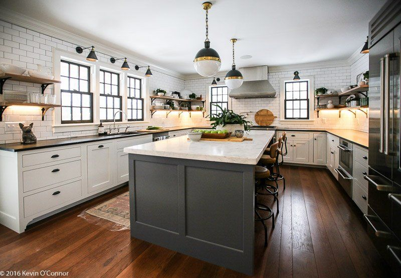 kevin o connor on kitchen remodel one wall kitchen home on farmhouse kitchen no upper cabinets id=33698