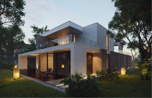Modern Home Exteriors With Stunning Outdoor Spaces · Modern Home  ExteriorsModern HomesModern BalconyBalcony DesignThe ...