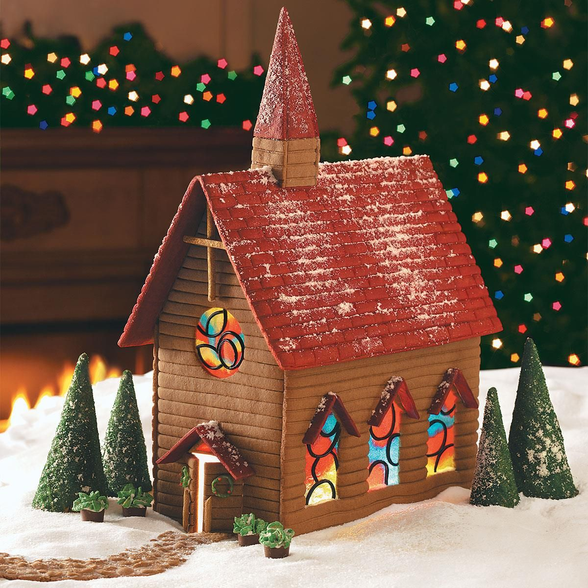 Gingerbread Country Church Recipe (With images