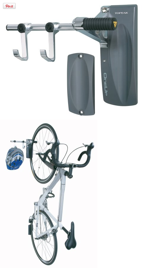 Topeak One Up Wall Mount Bike Hanger Elegant And Functional The