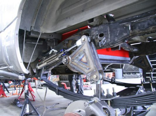 Chevy S10 Rear Cantilever Kit | Rat Rods | Cantilever suspension