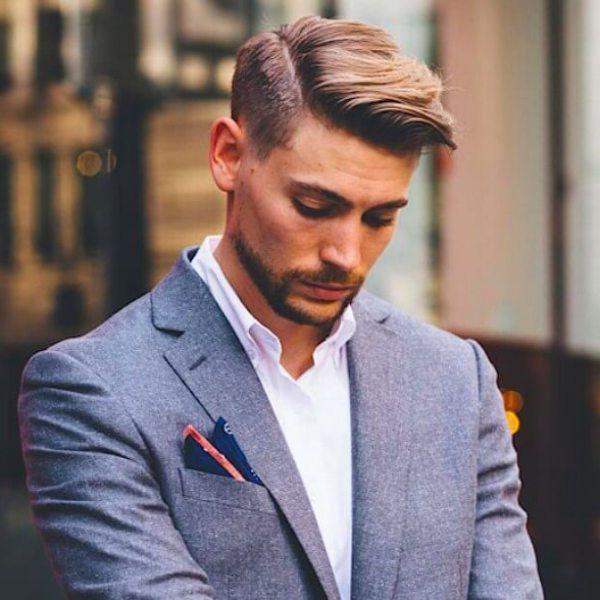 M 225 S De 25 Ideas Incre 237 Bles Sobre Side Part Mens Haircut En