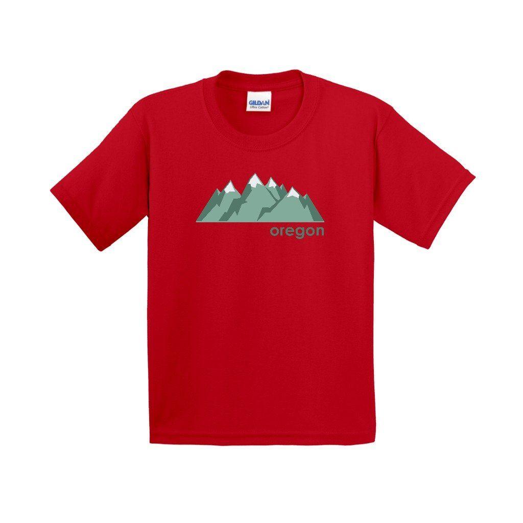 Oregon Mountain Range - Youth T-Shirt