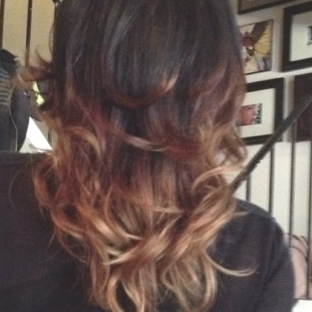 Ombre!!! Soon to be on me :)