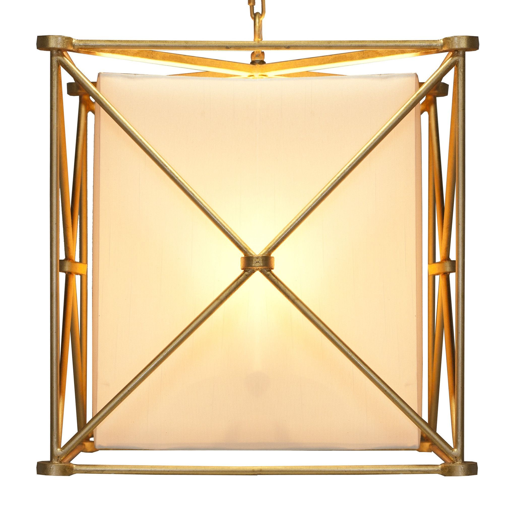 Ellis Gold Hanging Lantern
