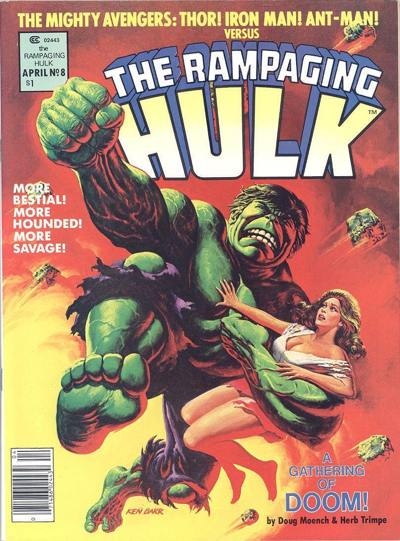 Rampaging Hulk issue 8...