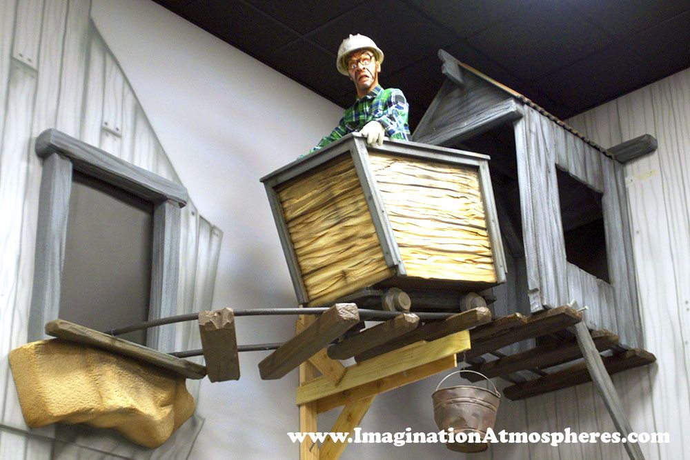 Old Mining Town Imagination Atmospheres Childrens room