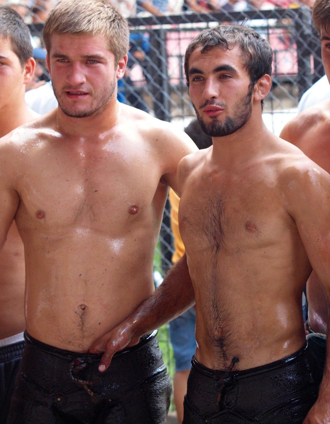 Turkish Oil Wrestlers  Turkish Wrestler  Pinterest -1133