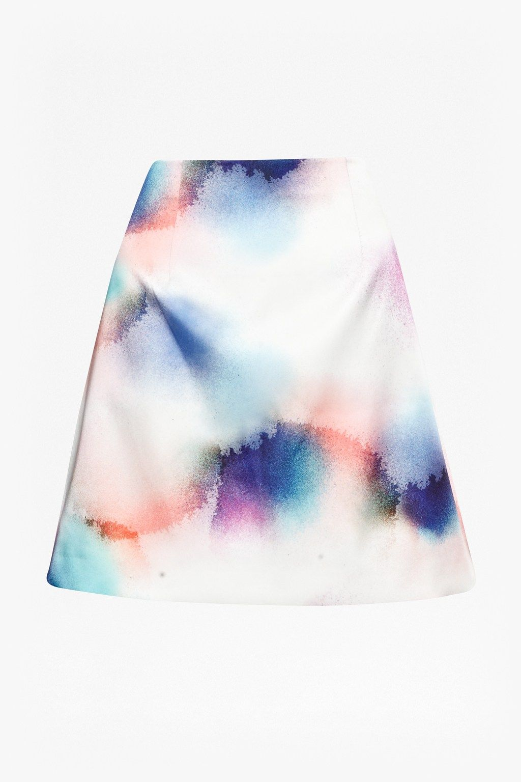 Soft Spray Flared Skirt - New Arrivals - French Connection