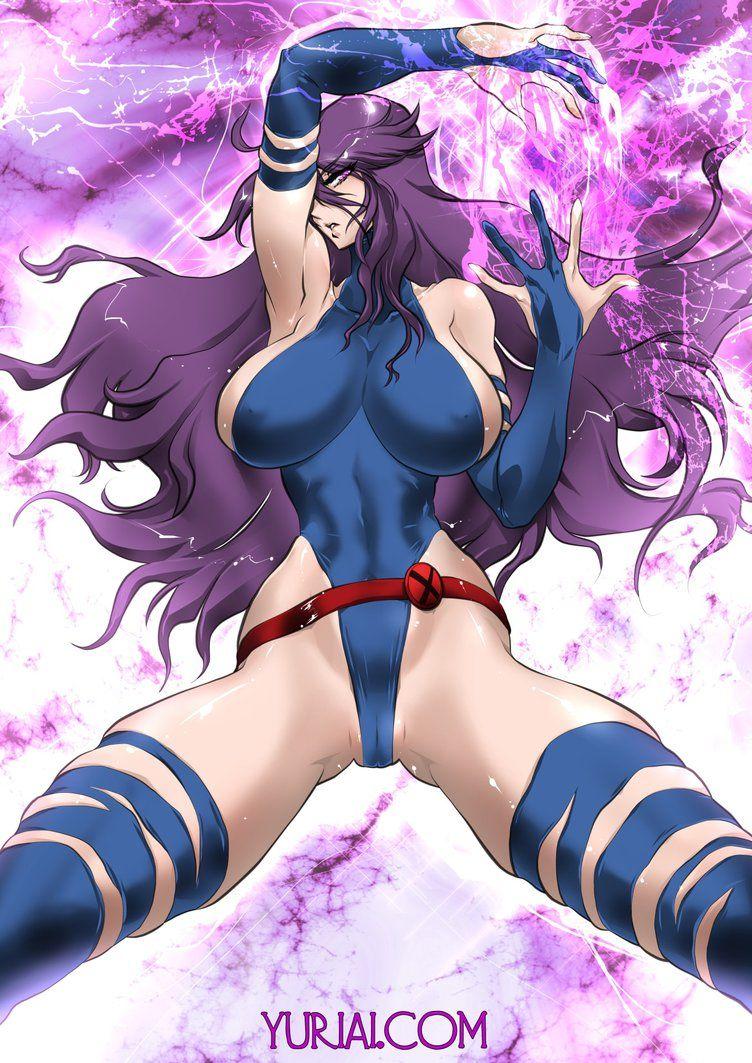 Nude Psylocke