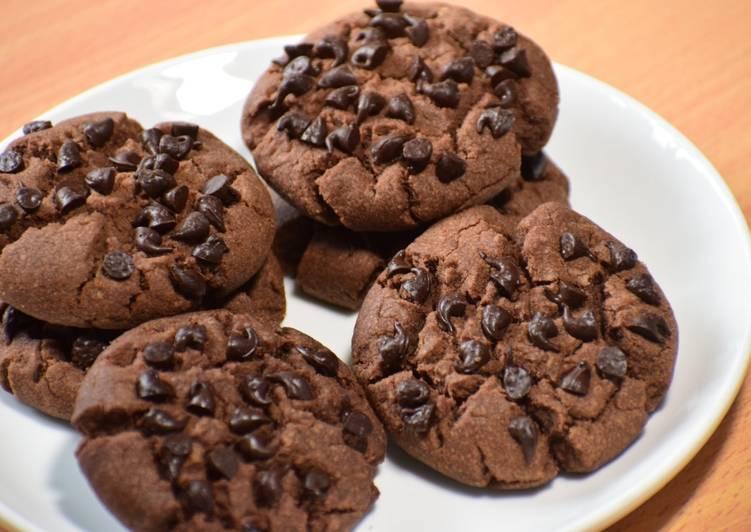 Chocolate Choco Chips Cookies Recipe By Saumya Singh Recipe Chocochip Cookies Recipe Choco Chip Cookies Cookies Recipes Chocolate Chip