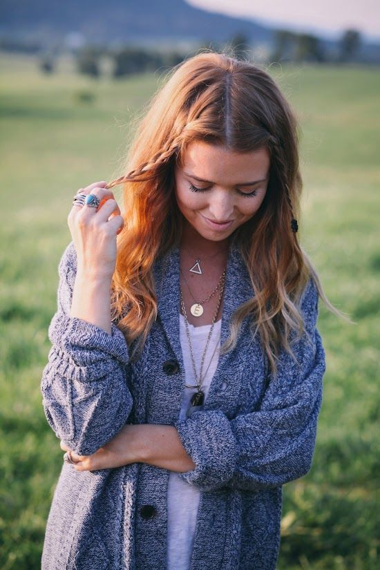 {/Comfy and cozy oversized cardigan fashion}