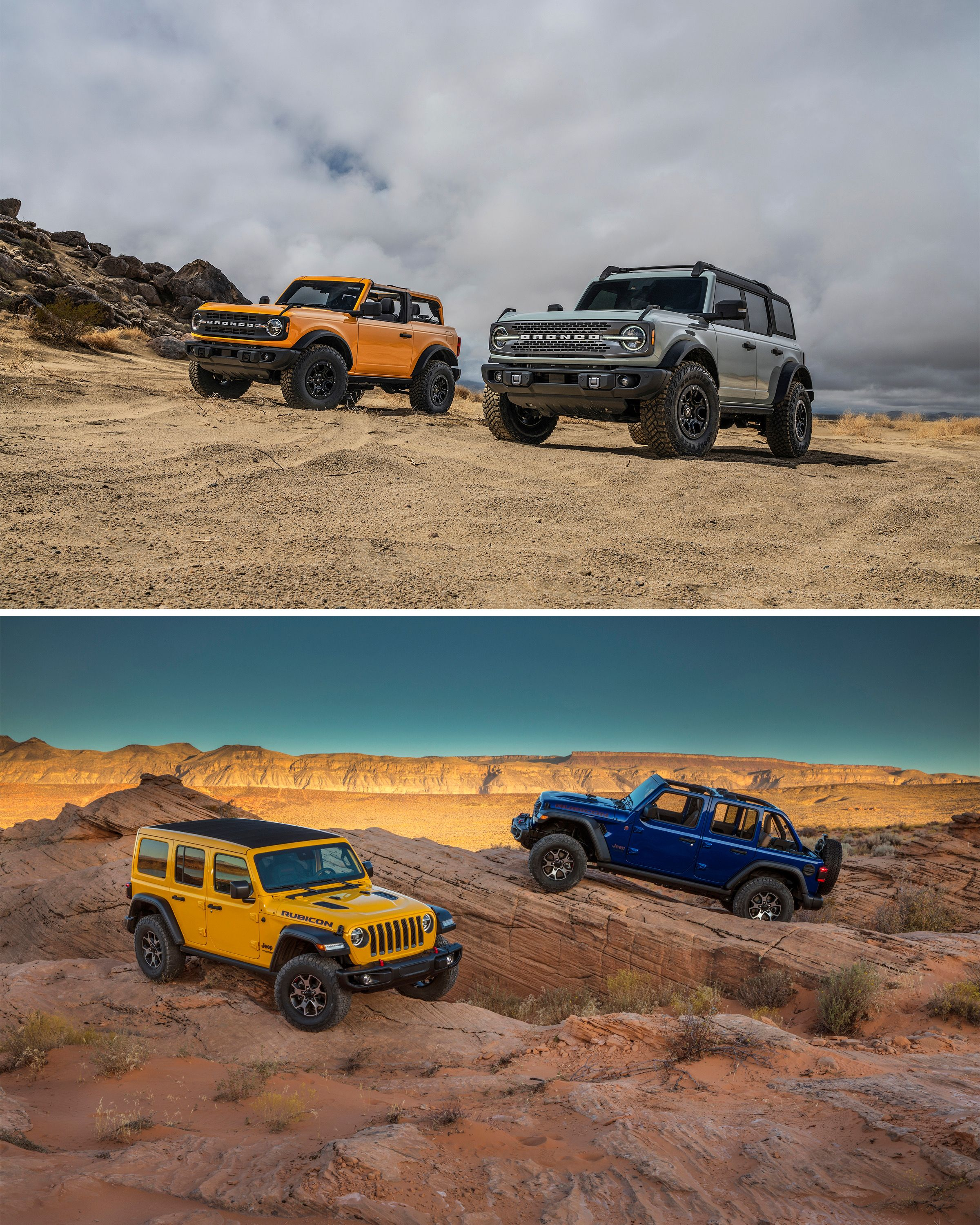 Ford Bronco Vs Jeep Wrangler In 2020 Ford Bronco Jeep Bronco