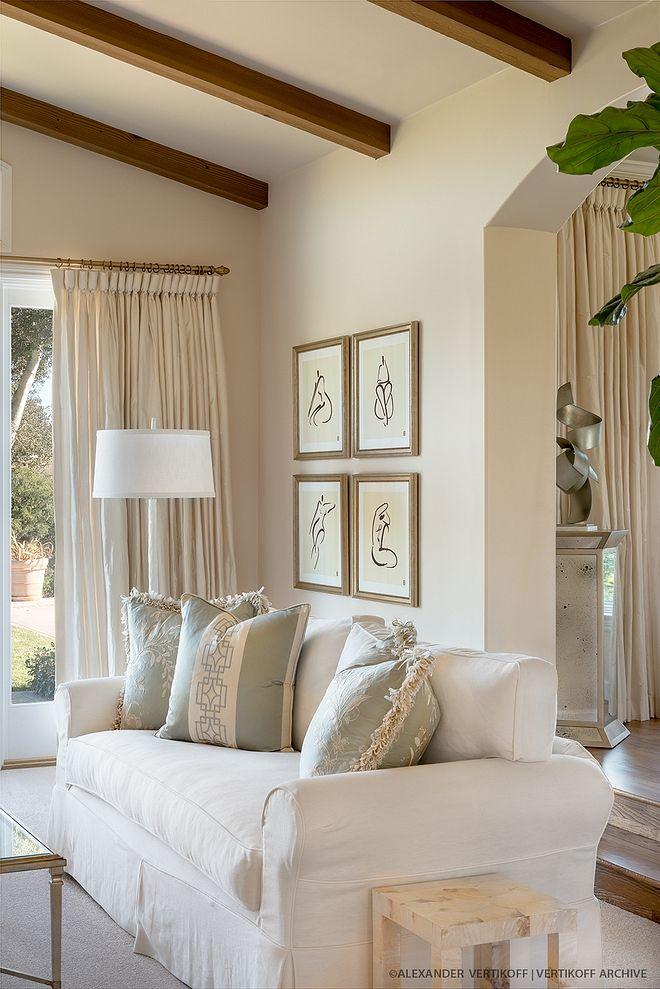 Interior Design Traditional Interior Design Soft Linens Chenilles And Cotton Blends Create An Inviting Casua Traditional Interior Design Interior Design Home