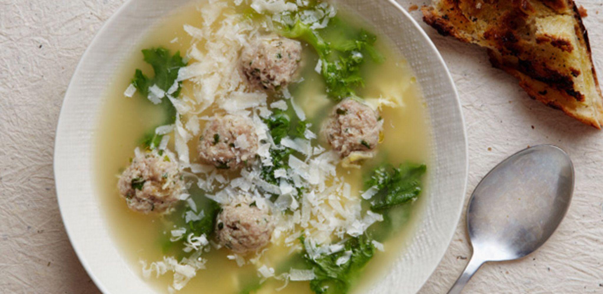 Italian Wedding Soup #italianweddingsoup