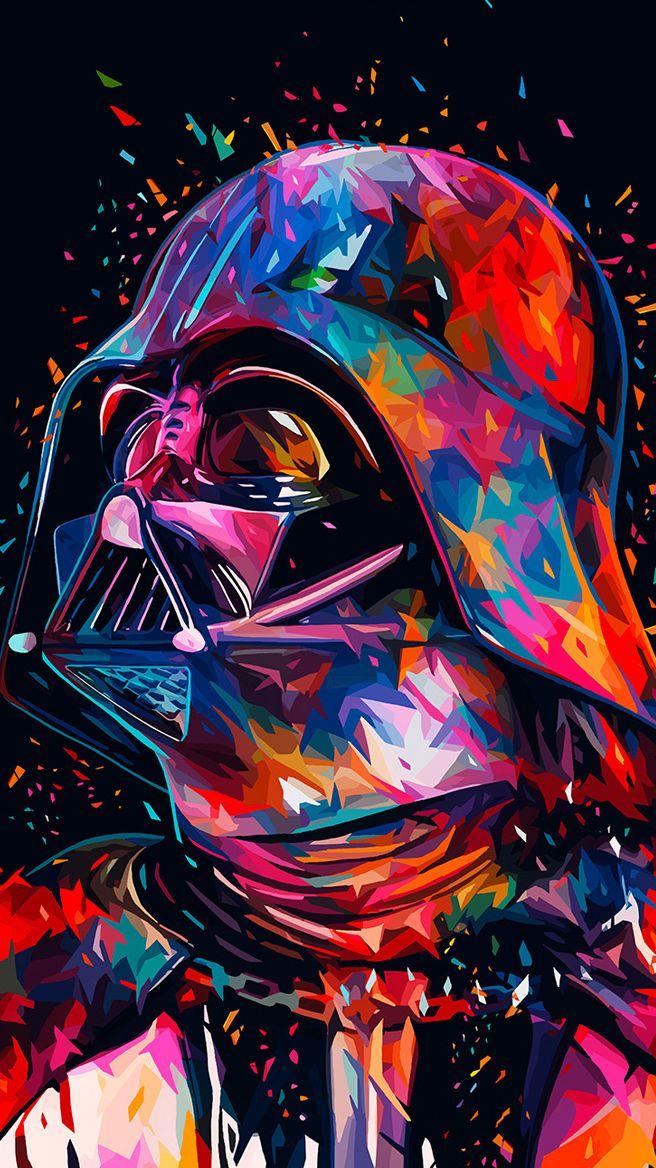 Wallpaper4iphone Star Wars Art Star Wars Tribute Star Wars Wallpaper