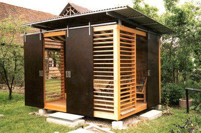 Anerkennung 2003 Design gartenhaus, Whirlpool pergola