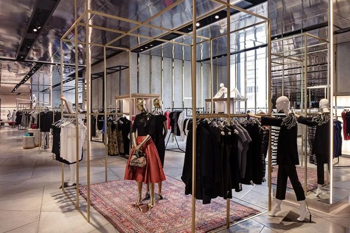 Harvey Nichols store by virgile + partners, Birmingham ...