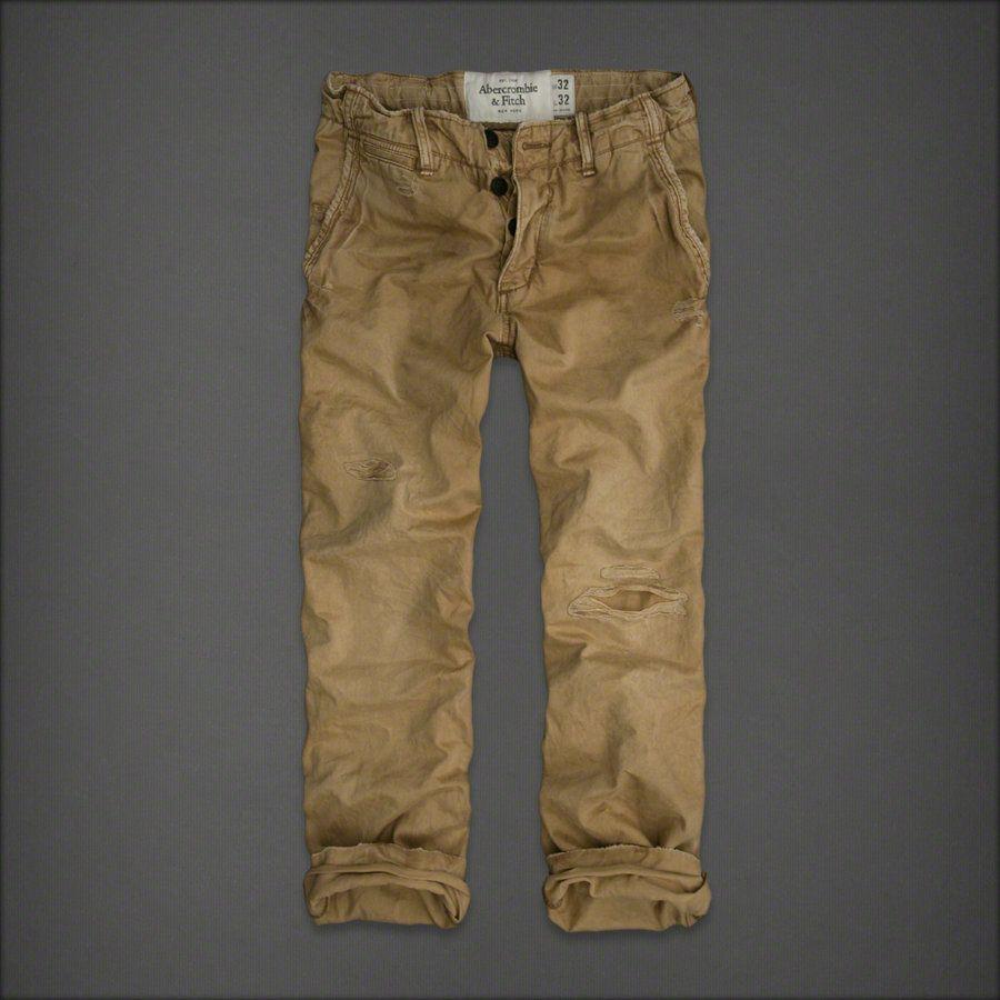 Abercrombie Hollister Meskie Spodnie Chinosy 28 30 5613794527 Oficjalne Archiwum Allegro Khaki Pants Pants Abercrombie