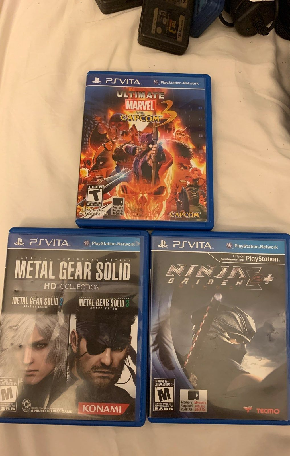 This Listing Is For A Lot Of Three Sony Psvita Games Ultimate