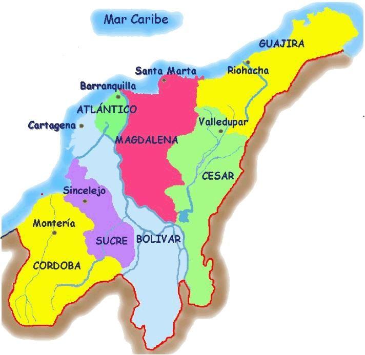 Resultado De Imagen Para Mapa Hidrografico De La Costa Atlantica