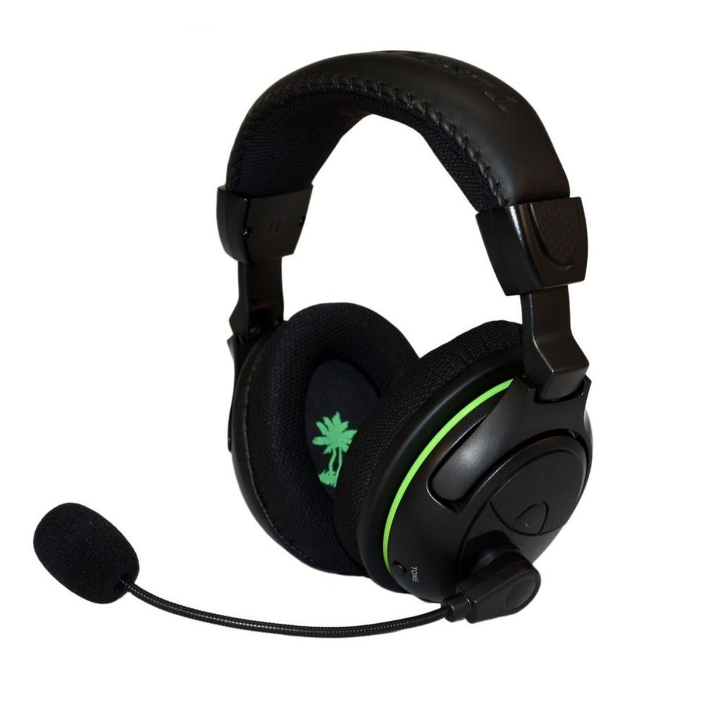 Turtle Beach Ear Force X32 Black Green Headband Headsets For Microsoft Xbox 360 2 5 Mm Cable For Xb Wireless Gaming Headset Turtle Beach Best Gaming Headset