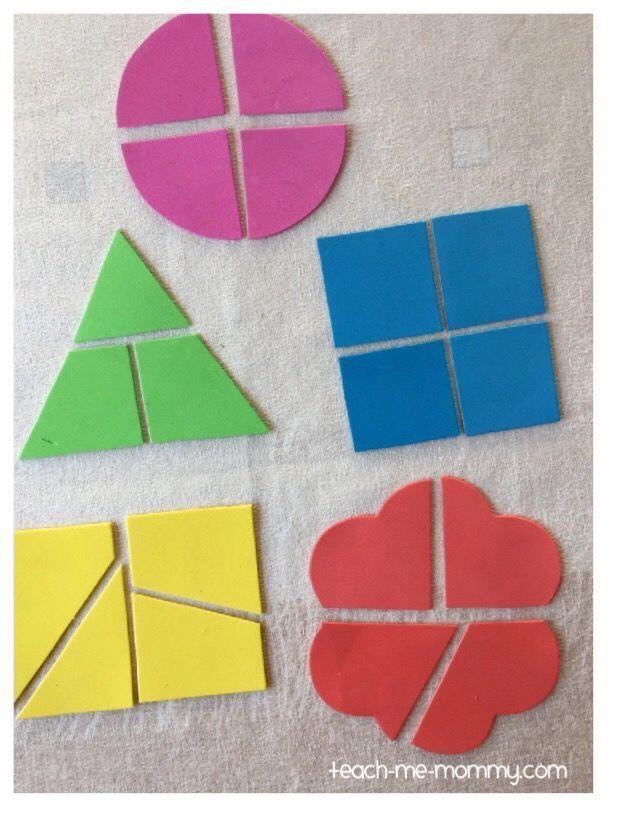 Photo of Shape Puzzles Busy Bag – Enséñame mami