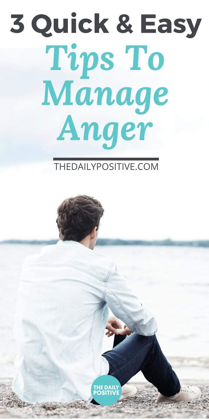 3 Quick & Easy Anger Management Tips | Anger management