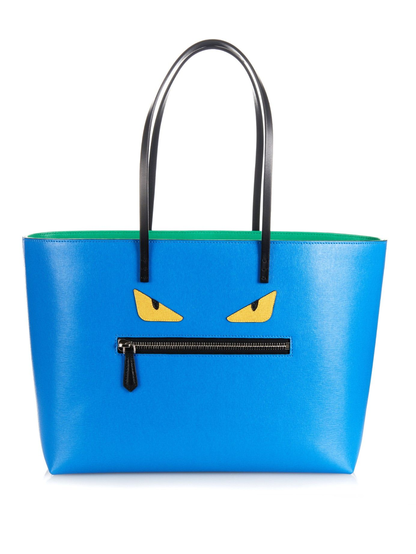 c8aef918f00 Roll leather tote