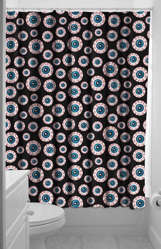 Goth Shower Curtain Google Search With Images Halloween