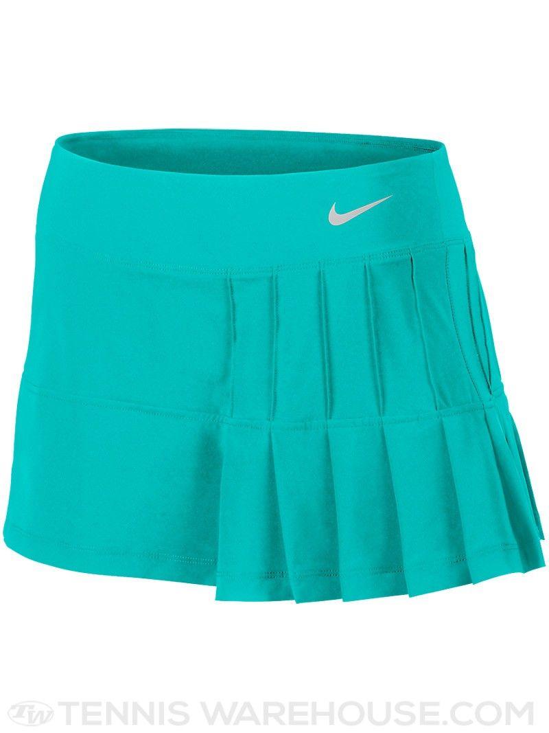 Nike Women\u0027s Summer Pintuck Pleated Woven Tennis Skort