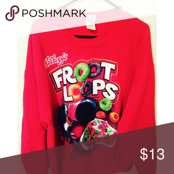 6d27c680 Fun & Bold Men's XL Froot Loops sweatshirt