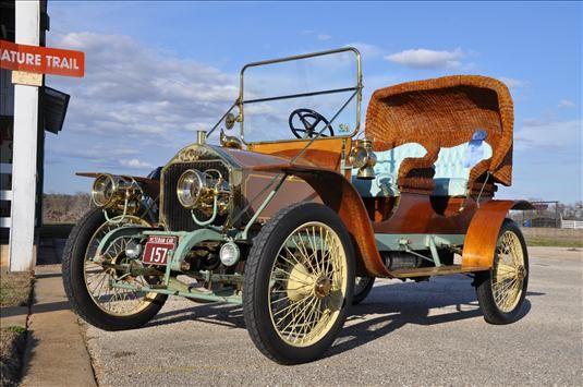 1911 Napier Garden Car - (Napier Motor Car Company of America, 1904-1912)