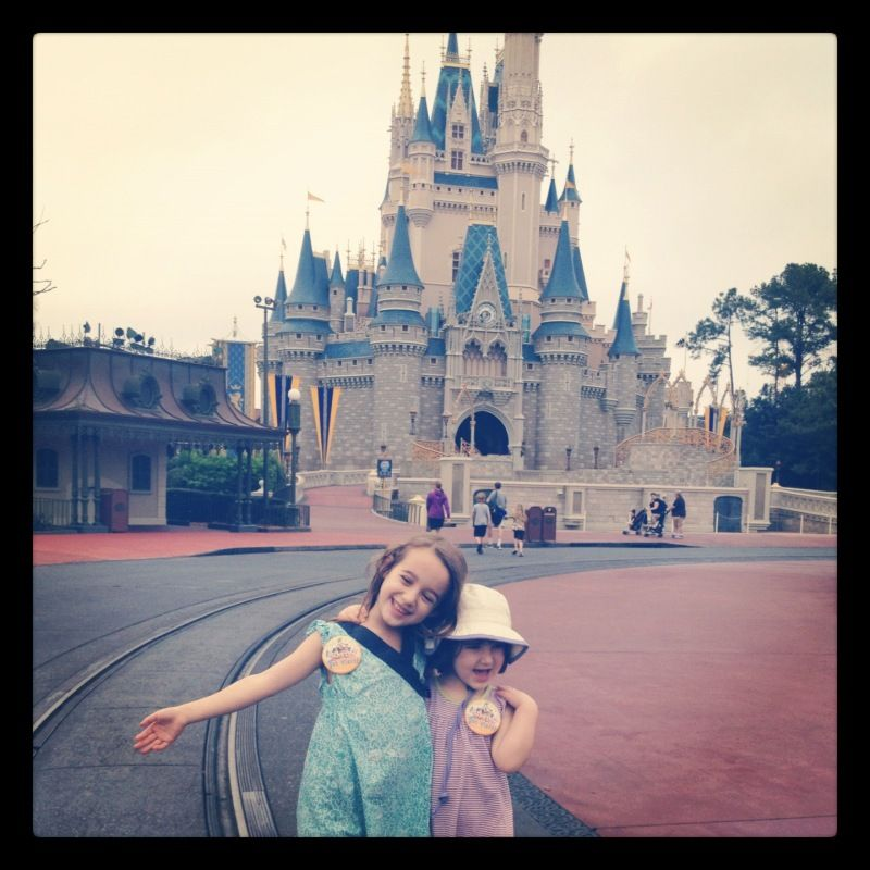 because someday we will go to Disney world with the kids...and I don't want to end up in a corner rocking myself back and forth.  Great tips here!