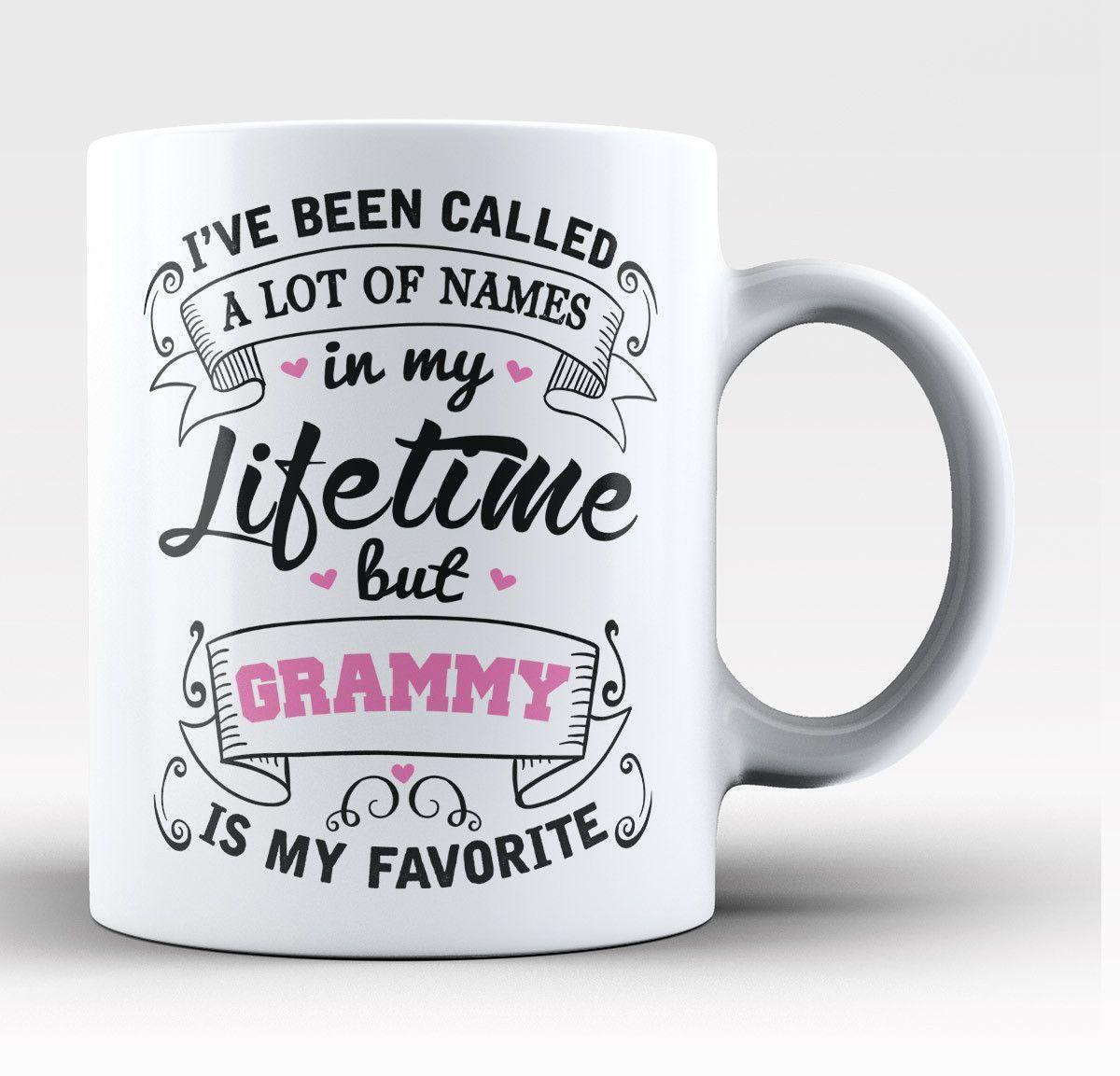 My Favorite Name Is Nickname Pink Personalized Mug