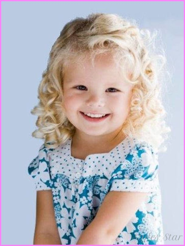 Awesome Little Girl Curly Haircut Lils Crazy Hair Pinterest
