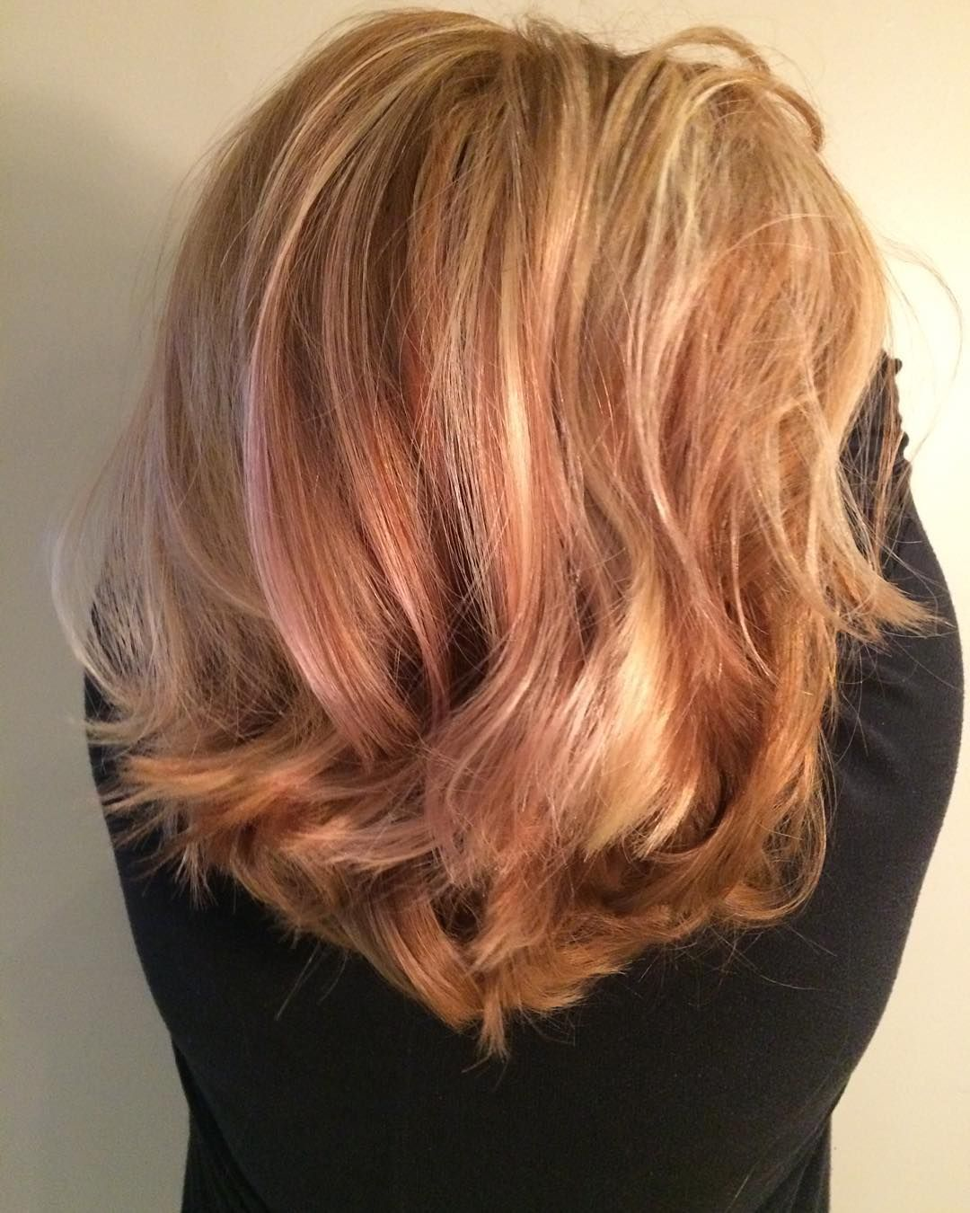 Matrix of strawberries shades hair pinterest hair coloring