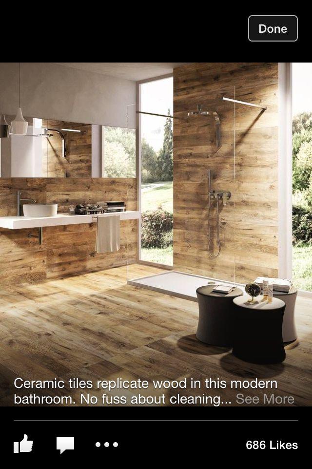 Tile wood art