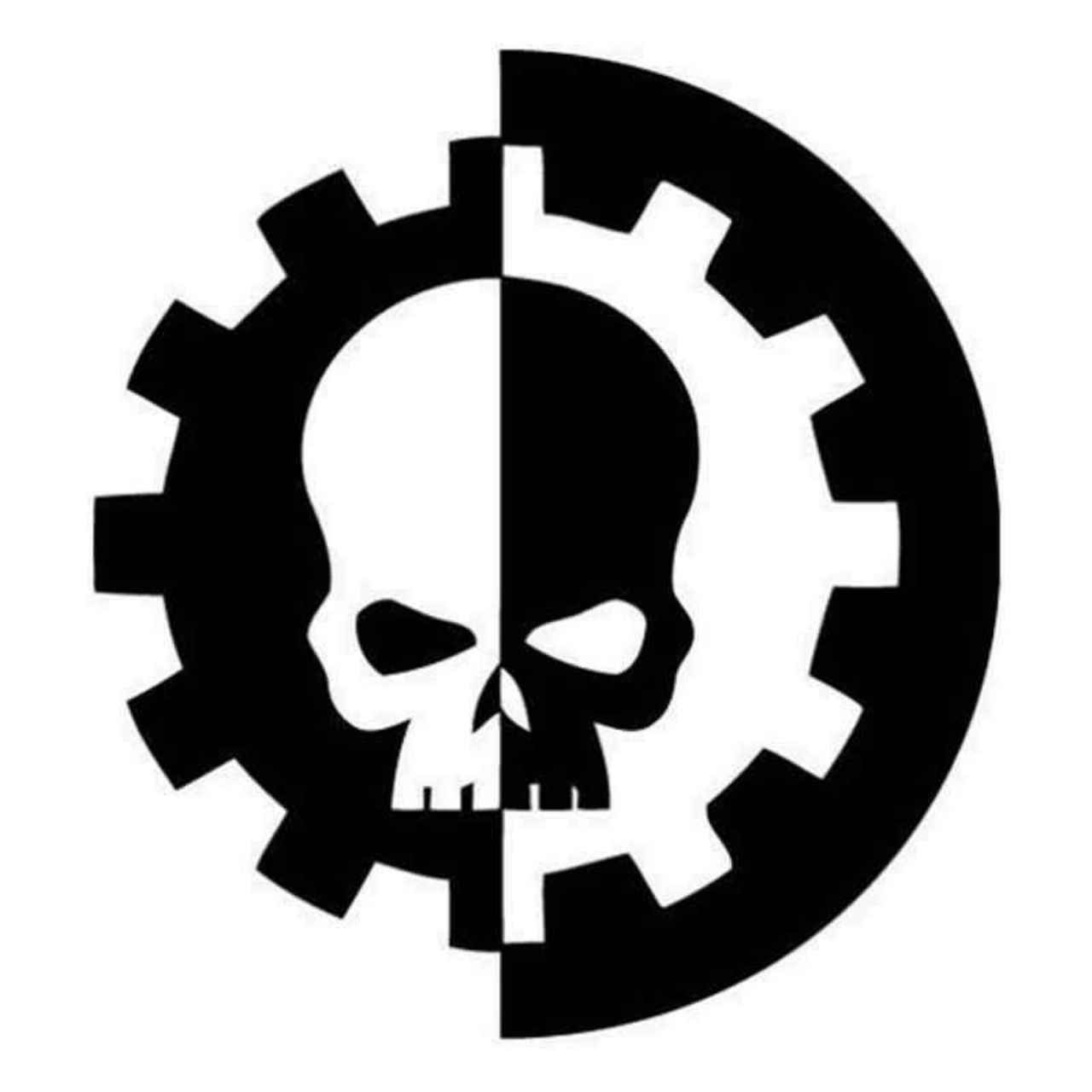 Warhammer 40k adeptus mechanicus 056 decal sticker ballzbeatz com