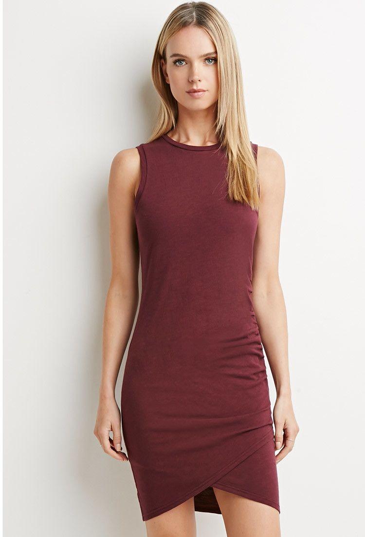 Tulip Bodycon Dress | LOVE21 - 2000141112