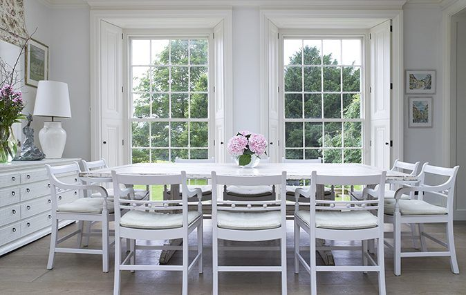 Philippa Thorp S House In Hampshire Photography Richard Powers Dining Furniture Makeover Contemporary Dining Furniture Dining Furniture