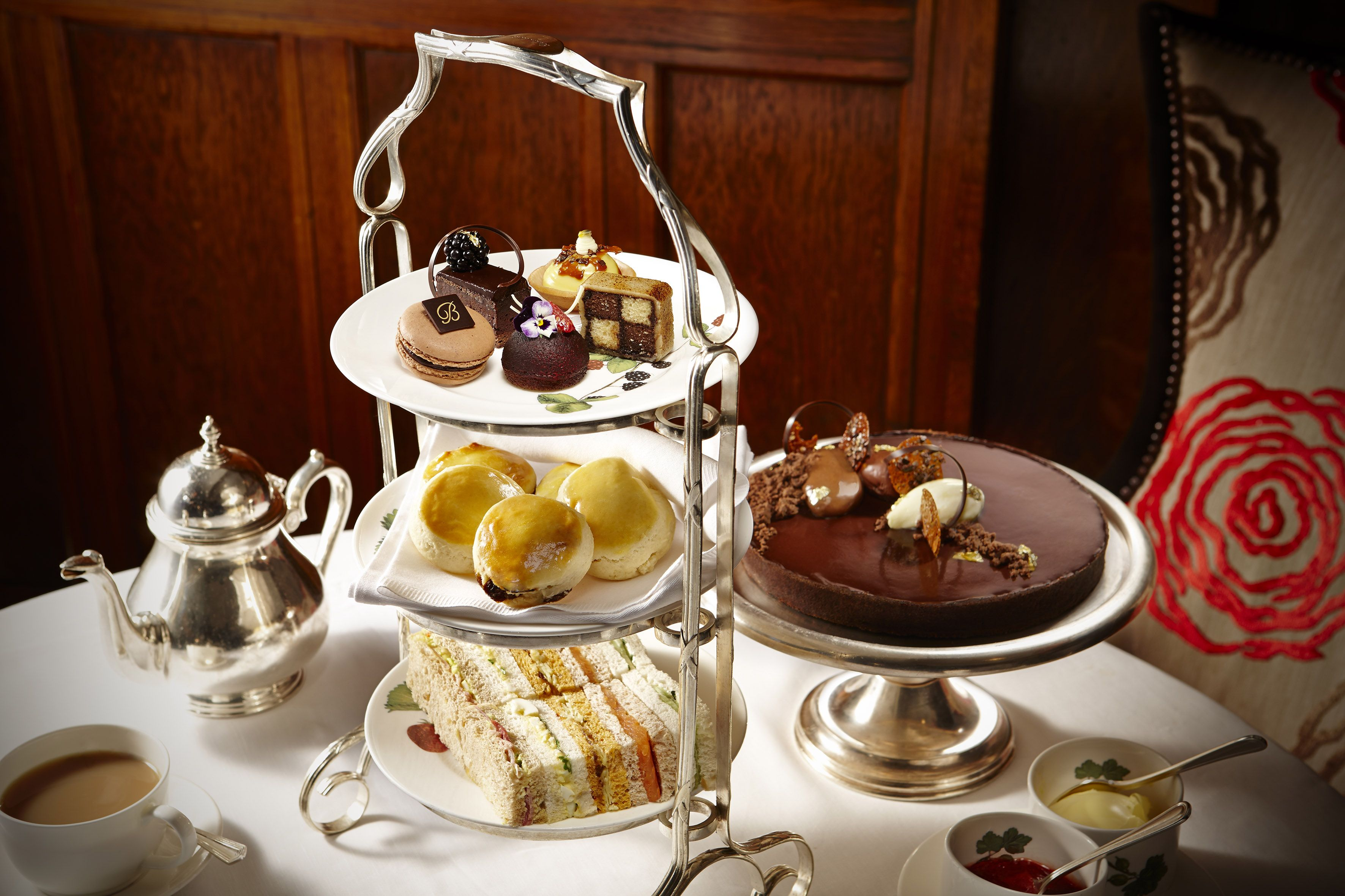 Chocolate Afternoon Tea At Browns Hotel Afternoontea Co Uk With