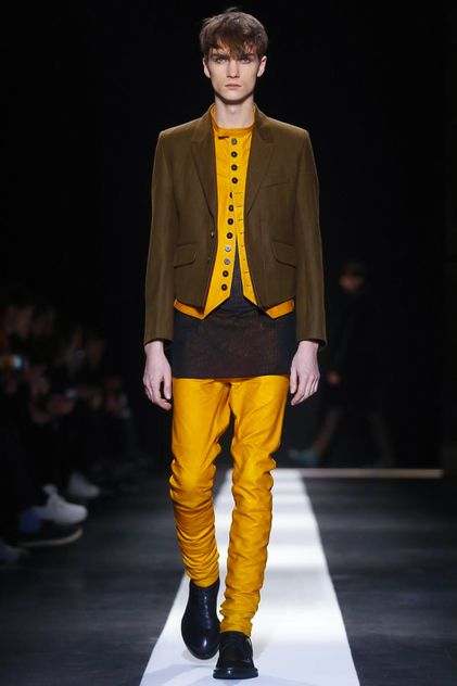 Ann Demeulemeester Menswear Fall Winter 2015 Paris
