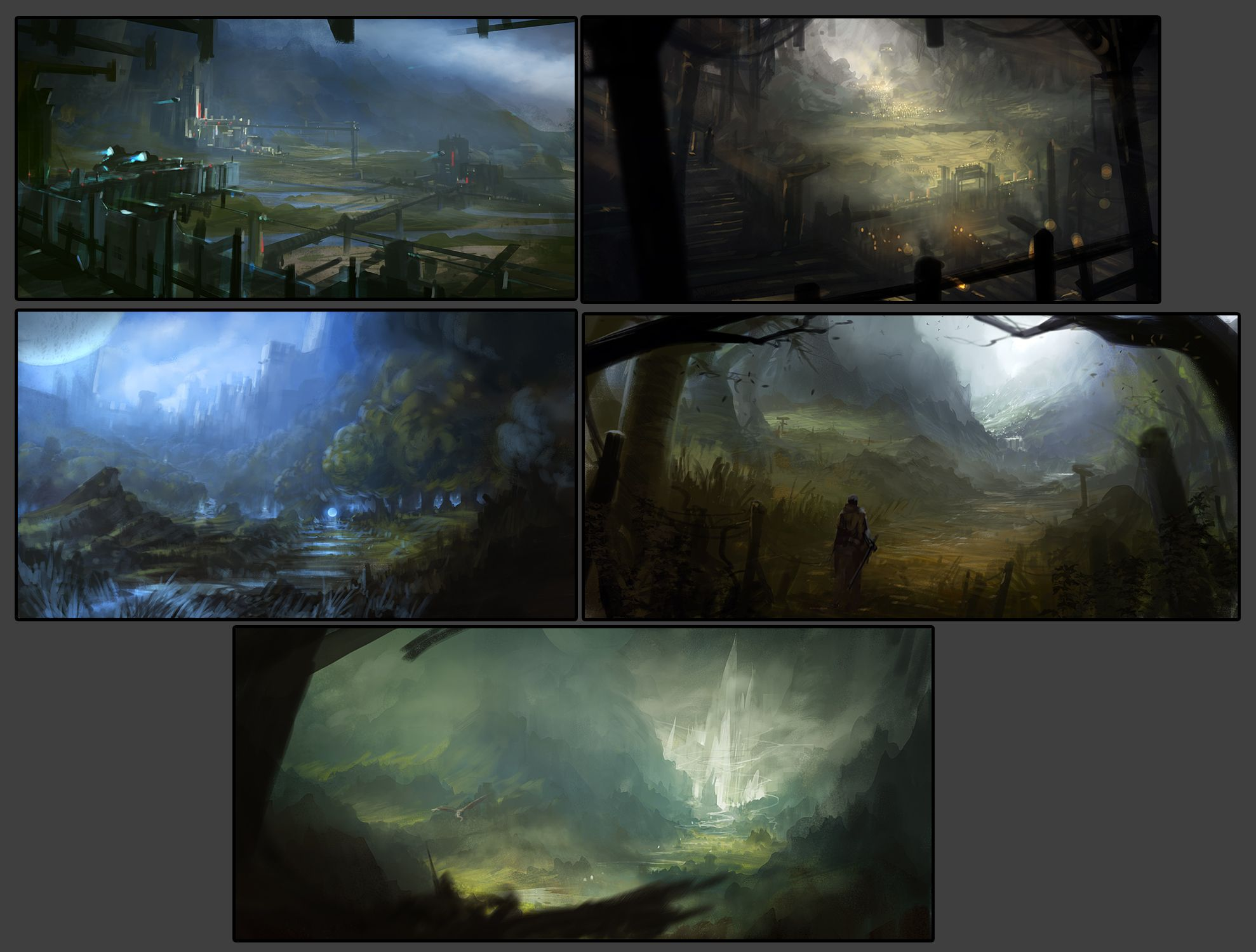 Student Galleries With Images Landscape Illustration Environmental Art Environment Concept Art