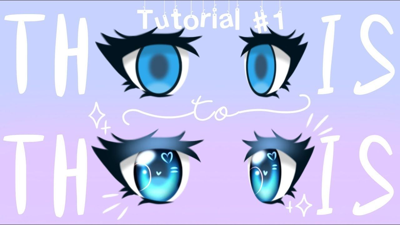 Art Class 101 W Pastelle Lesson 1 How To Shade Eyes Gacha Life Tutorial Youtube How To Shade Anime Eyes Drawing Tutorial