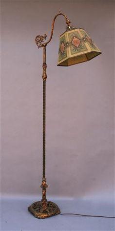 Rembrandt Arts And Crafts Bridge Lamp Google Search Antique